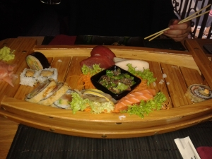 Atlantic Sushi boat